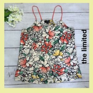 The Limited Floral tank with racerback-style strap